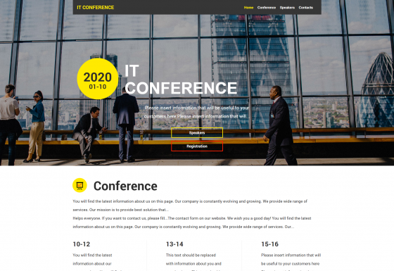 Conferencia IT